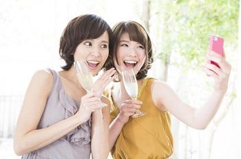 若くてキレイな女性二人
