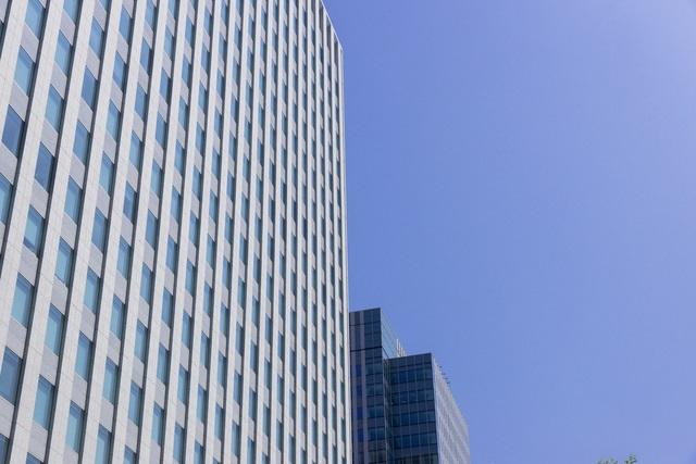 高層ビルの企業